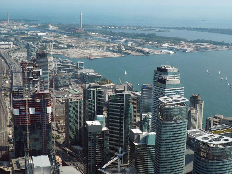Bild 37 Blick vom CN Tower