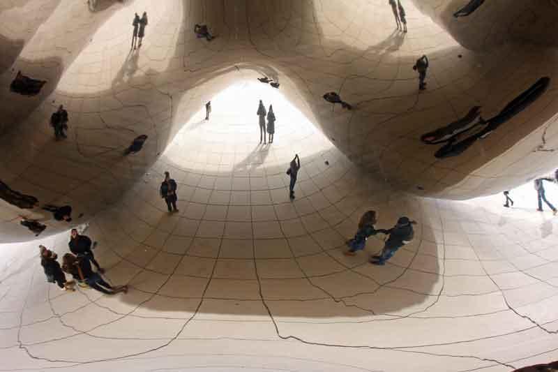 Bild 8 The Bean im Millenium Park in Chicago