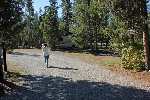"""Bild 23 Auf dem """"Madison Campground"""""""