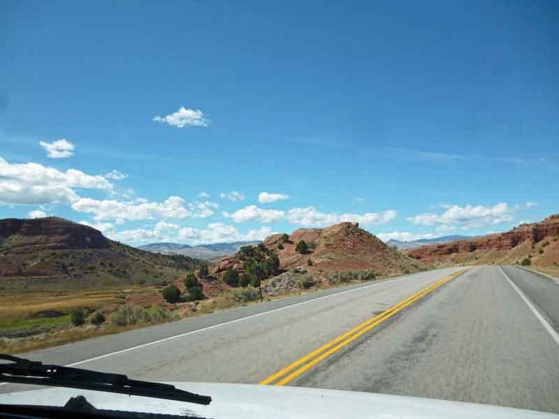 Bild 3 Unterwegs nach Westen durch eine wunderschöne Landschaft, fast ohne Verkehr
