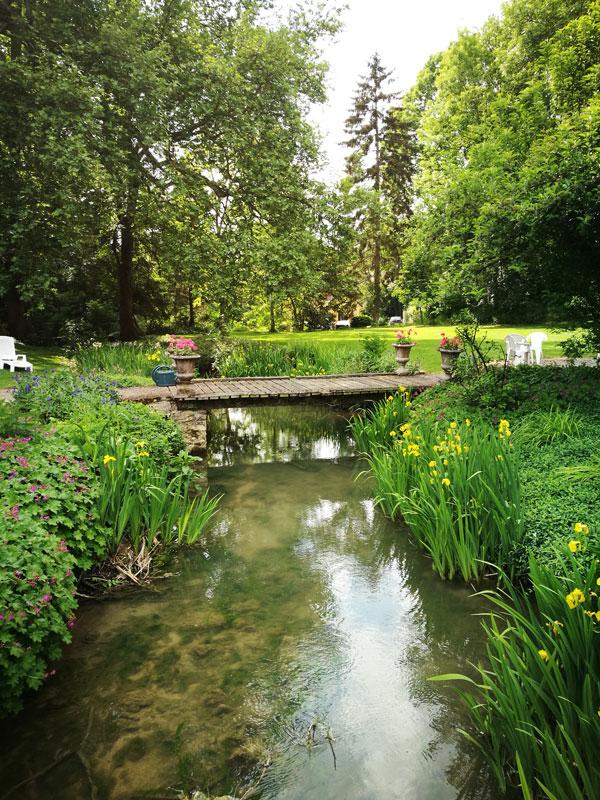 Bild 20 Im Garten von Manoir de la Semoigne