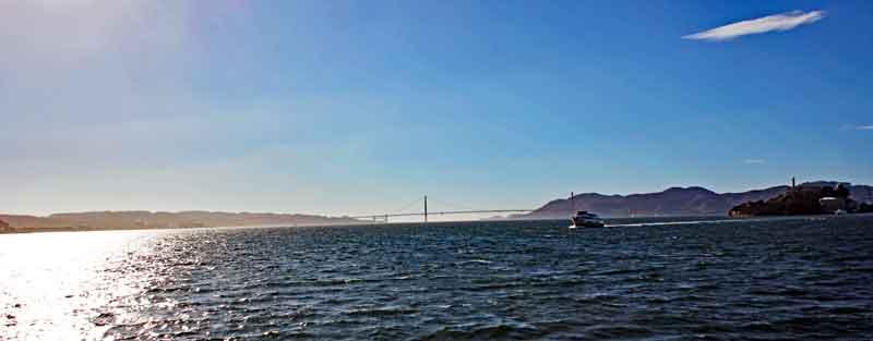 Bild 11 Blick auf die Golden Gate