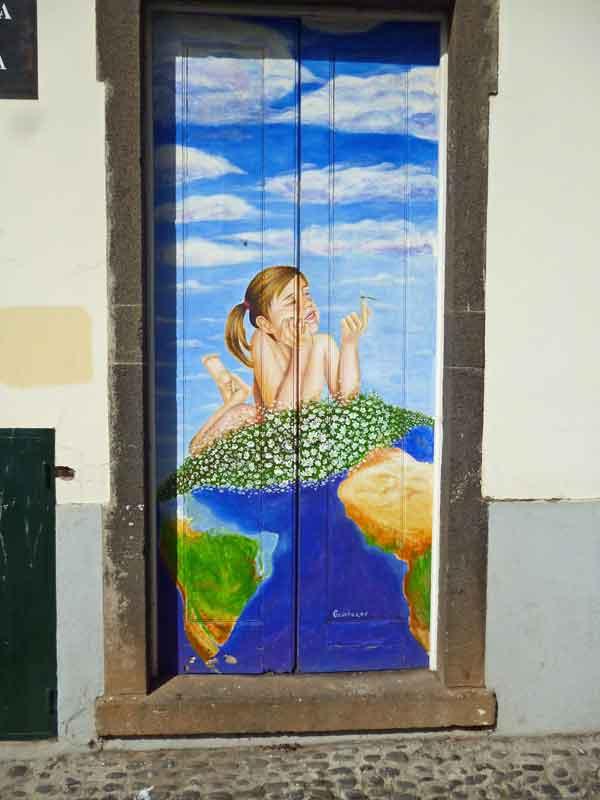 Bild 55 Tolle Haustürbemalungen in Funchal