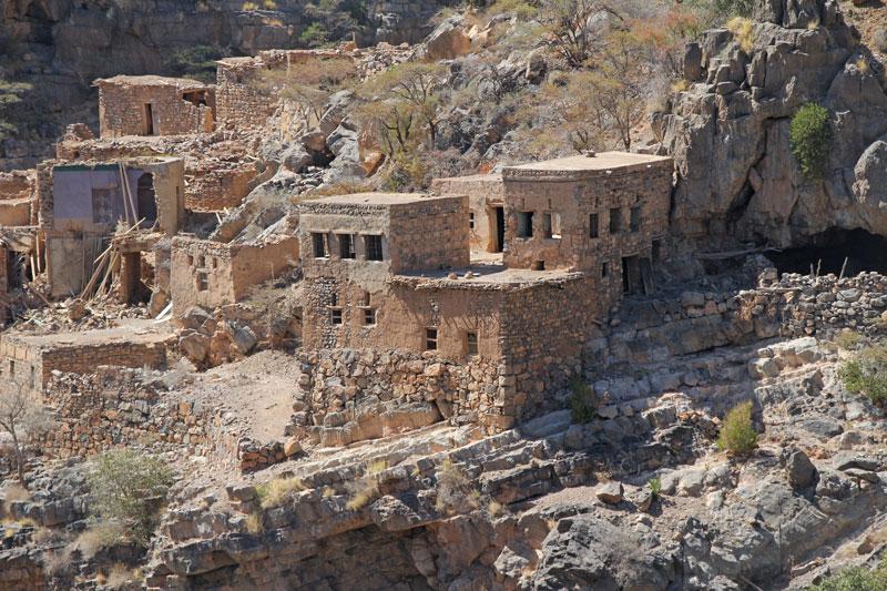 Bild 19 In der verlassenen Stadt im Wadi Habib
