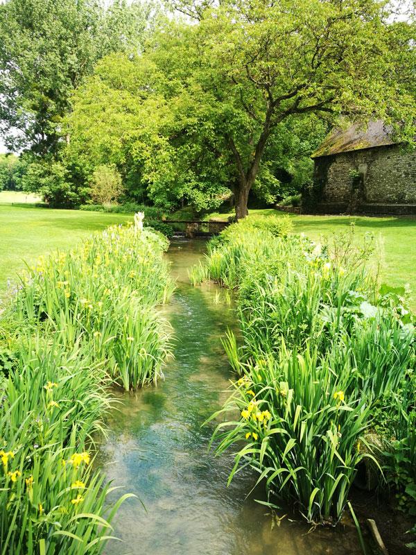 Bild 19 Im Garten von Manoir de la Semoigne