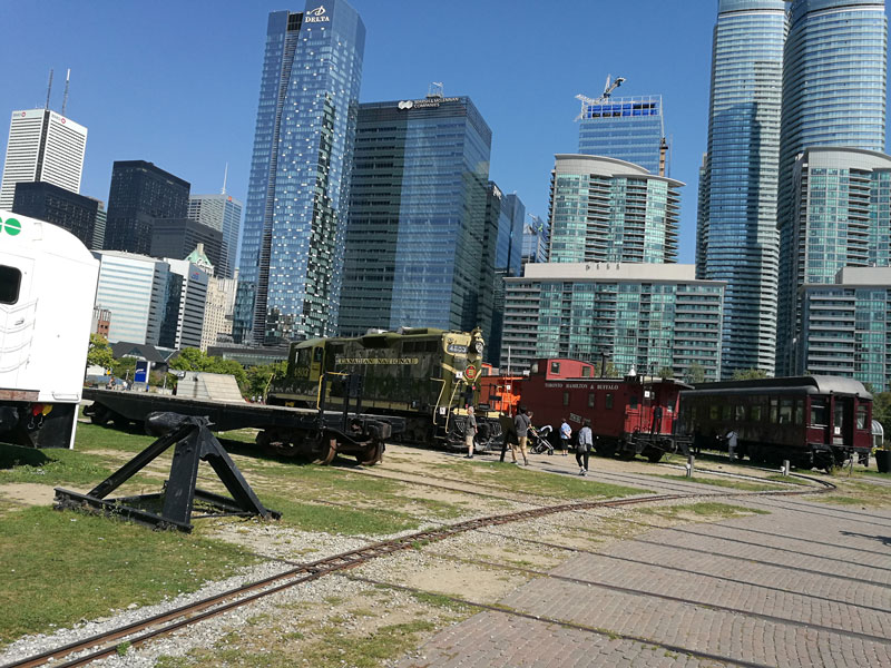 Bild 46 Eisenbahnmuseum neben dem CN Tower