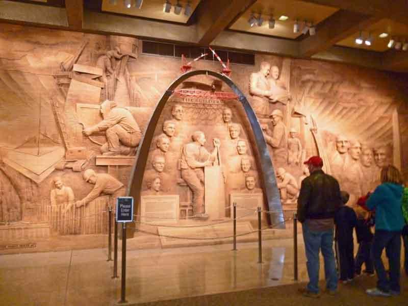 """Bild 5 Im Museum """"Arch"""" von St. Louis"""