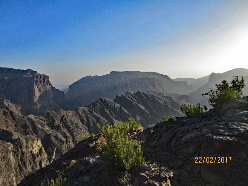Bild 18 Berge des Al Jabal Al Akhdar