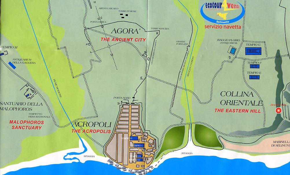 Plan von Selinunte
