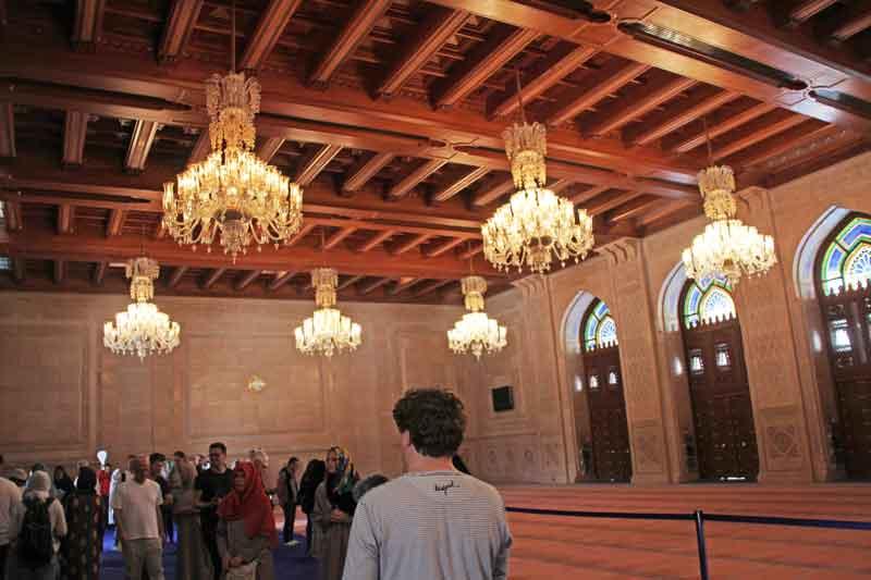 Bild 12 In der Sultan Qaboos Moschee