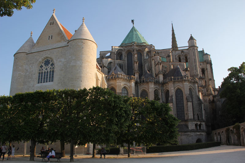 Bild 21 Unterwegs in Chartres