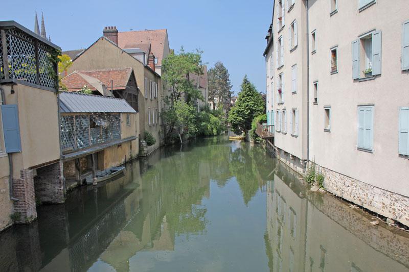 Bild 14 Am Fluß L'Eure in Chartres