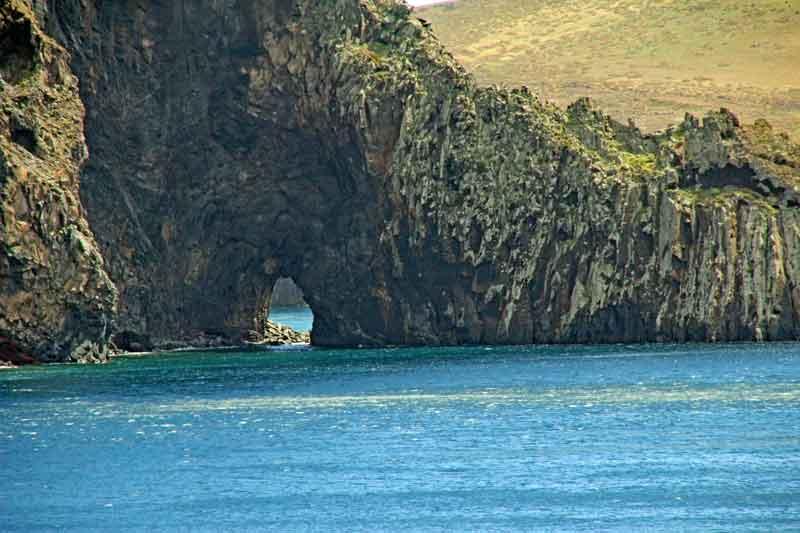"""Bild 12 Auf dem Weg zur östlichsten Spitze von Madeira dem """"Ponta de Sao Laurenco"""""""