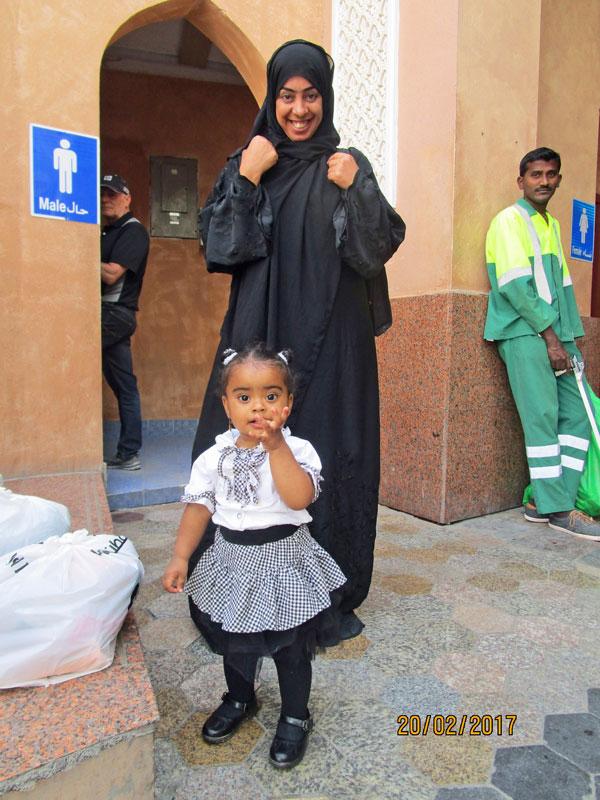 Begegnungen im Souk von Mutrah, Oman 2017