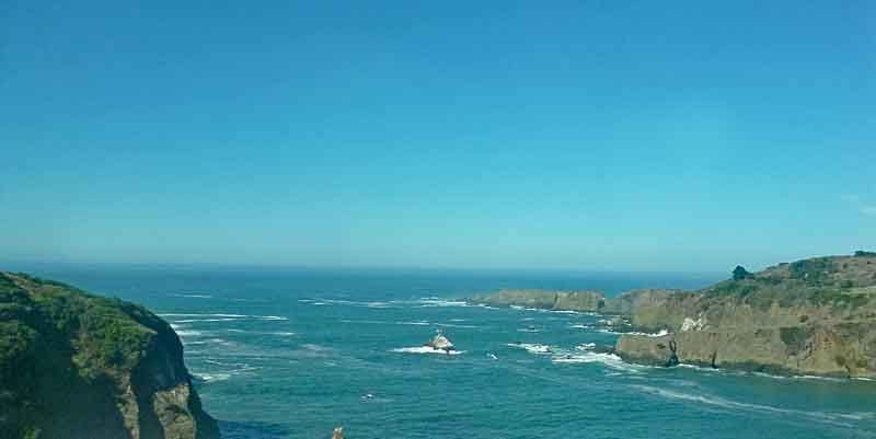 Bild 7 Und immer wieder tolle Blicke auf die Küste