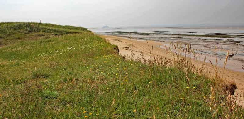 Bild 11 Am Strand von Dragey Ronthon