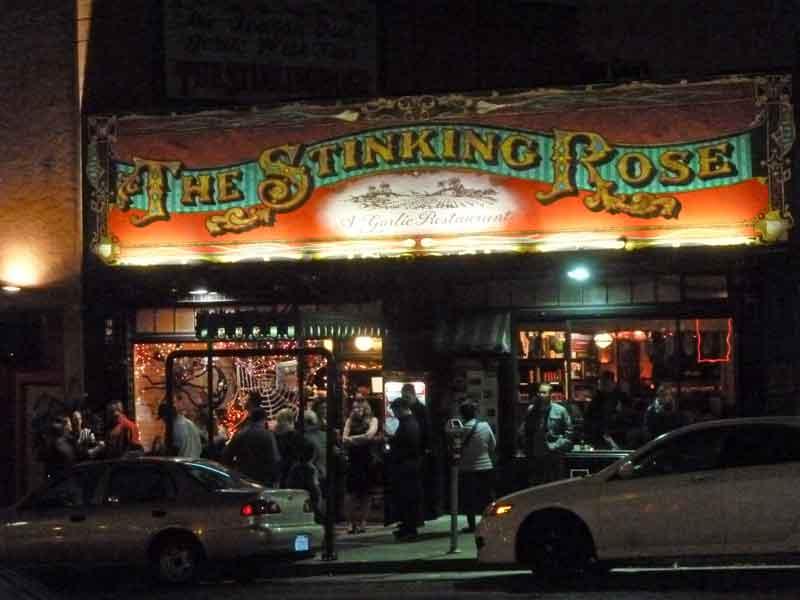 Bild 28 Ein Knoblauchrestaurant in San Francisco