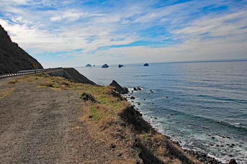 Bild 14 Immer wieder tolle Blicke auf die Küstenlandschaft in Oregon