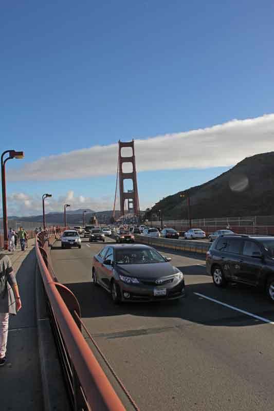 Bild 57 Verkehr auf der Golden Gate Brücke