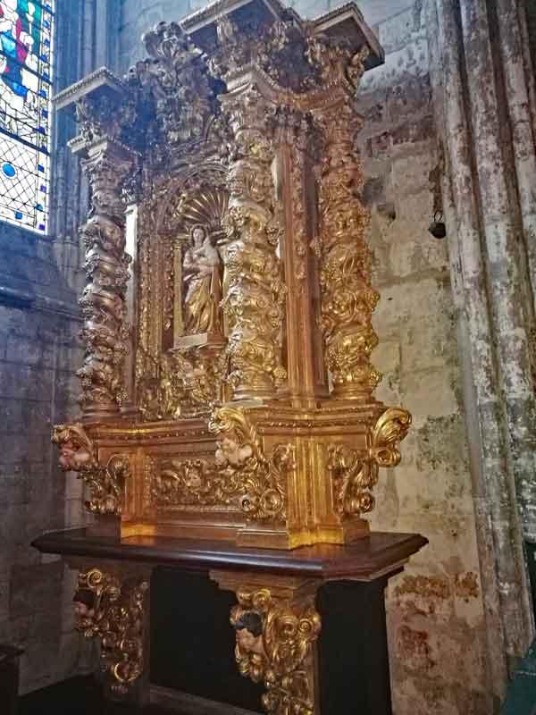 Bild 24 In der Kathedrale von Rouen