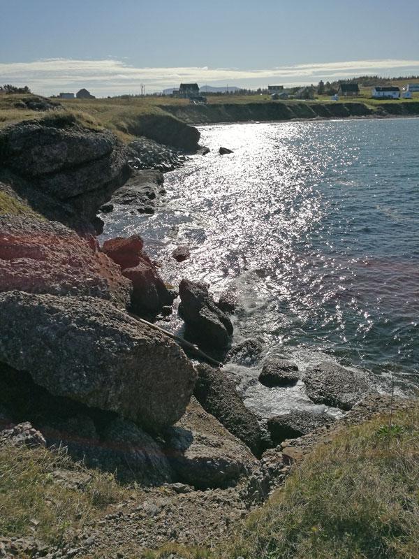Bild 5 Zwischenstop an der Küste