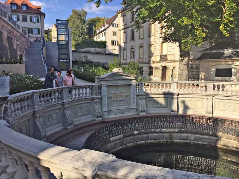 Bild 5 An der Donauquelle in Donaueschingen