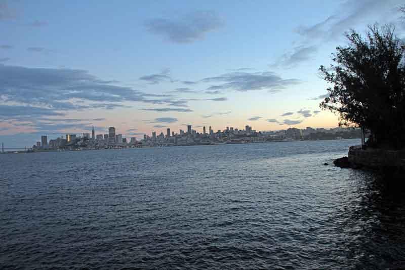 Bild 35 Blick auf San Francisco von Alcatraz