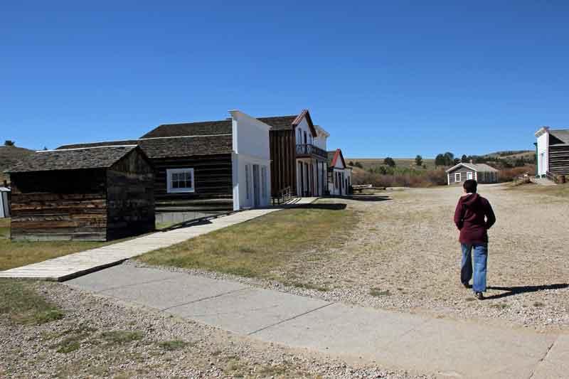 """Bild 5 Besichtigung des alten Bergbauortes """"South Pass City"""""""