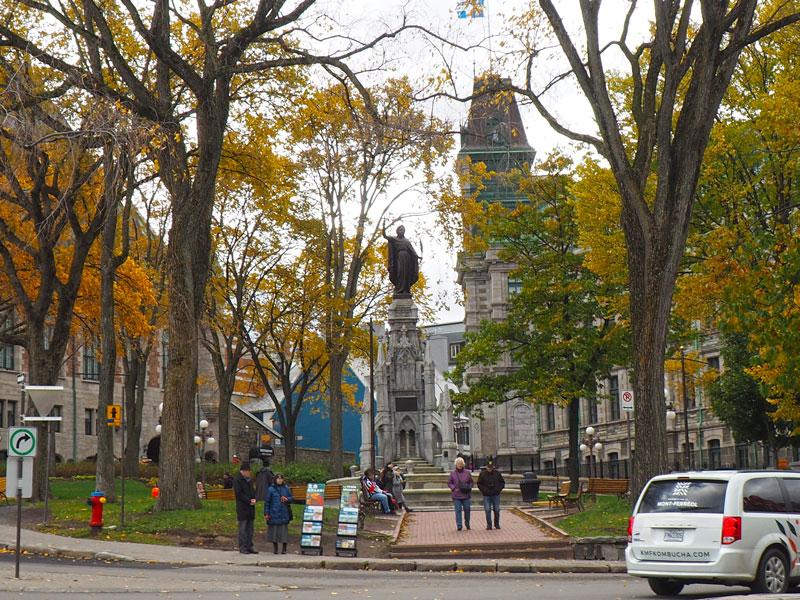 Bild 42 Bummel durch Quebec