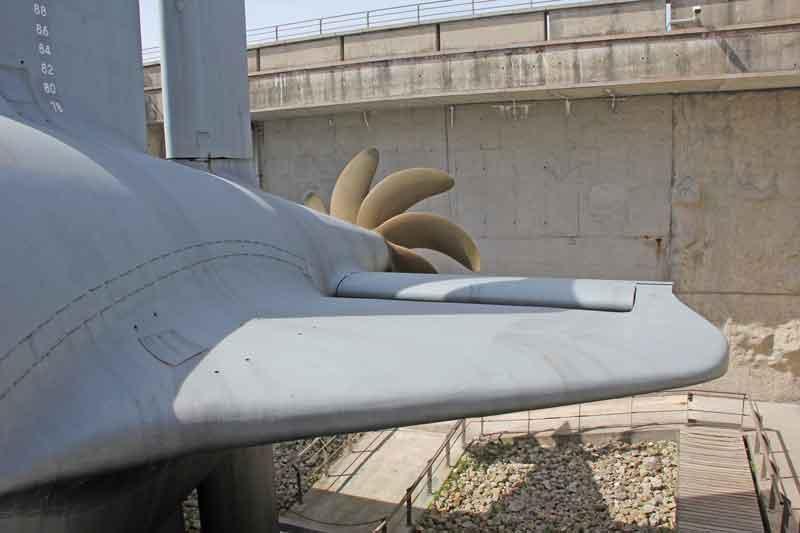 "Bild 9 Besichtigung des Atom-UBoots ""du Redoutable"" in Cherbourg"