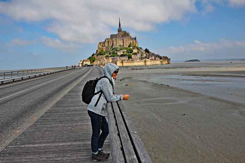 Bild 4 Auf dem Weg zu Mont-Saint-Michel