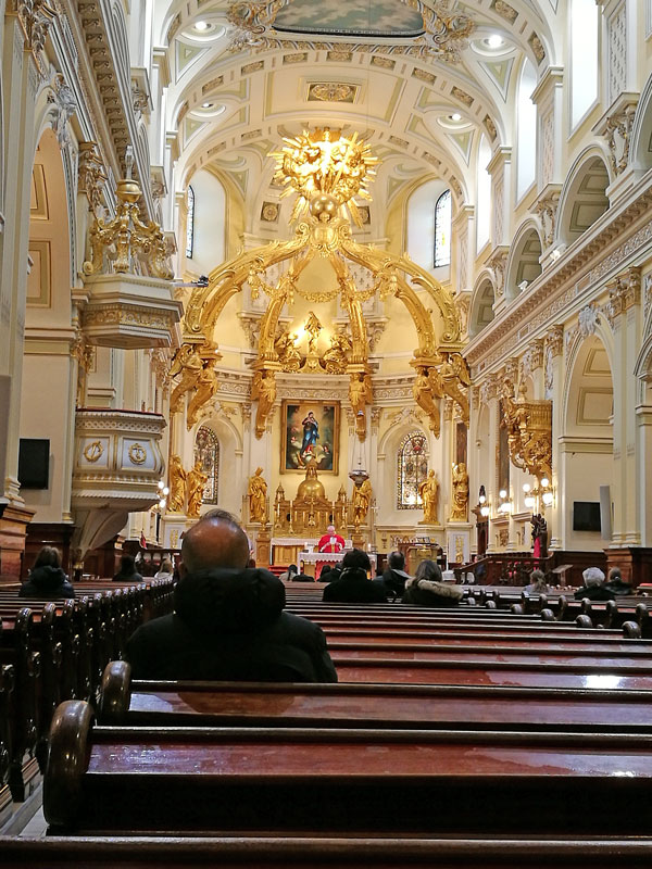 Bild 52 Bummel durch Quebec, eine Kirche darf nicht fehlen