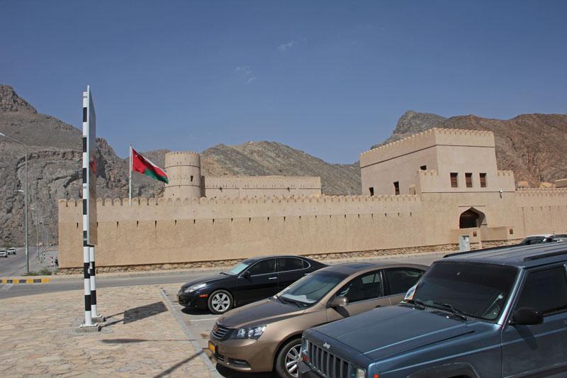 Bild 3 Blick auf das Bayt Ar Ridayah Castle
