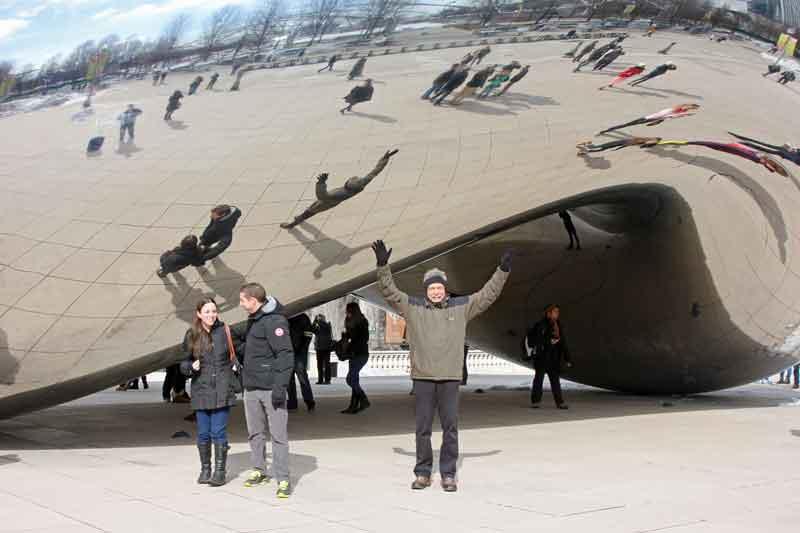 Bild 7 The Bean im Millenium Park in Chicago