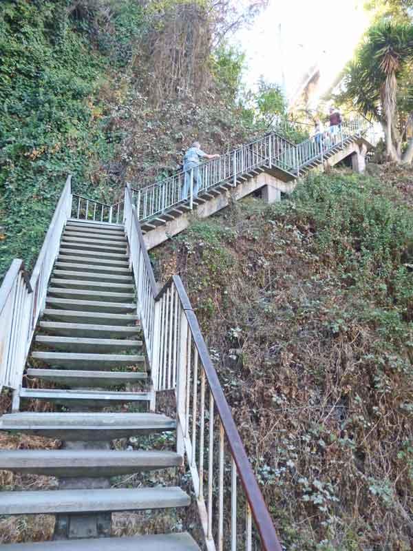 Bild 17 Aufstieg zum Coit Tower auf dem Telegraph Hill