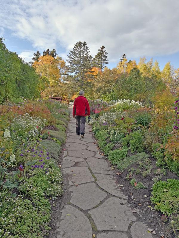 """Bild 23 Bummel durch den Garten """"Jardin de Metis"""""""