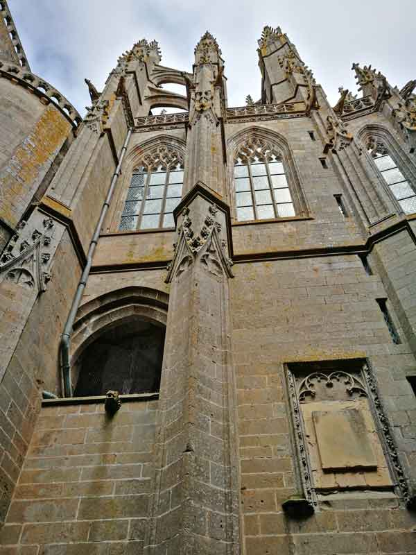 Bild 28 Abteikirche - Mont-Saint-Michel