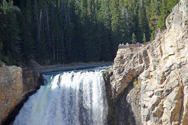 """Bild 18 Yellowstone, am Yellowstone """"Grand Canyon"""""""