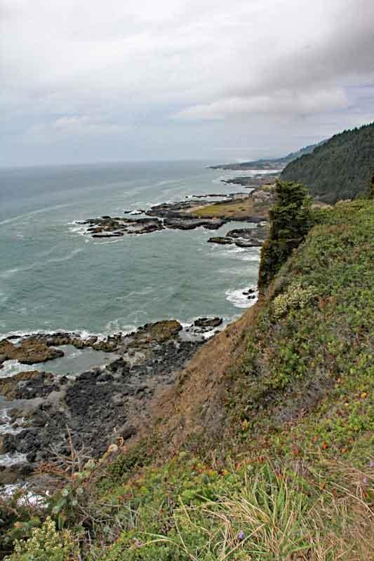 Bild 6 Weiter auf der 101 in den Süden in Oregon, immer wieder tolle Blicke aufs Meer