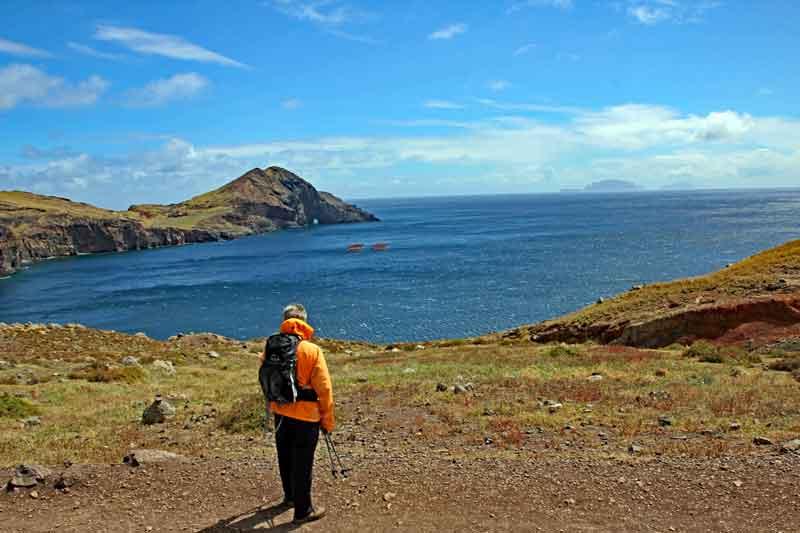 """Bild 5 Auf dem Weg zur östlichsten Spitze von Madeira dem """"Ponta de Sao Laurenco"""""""