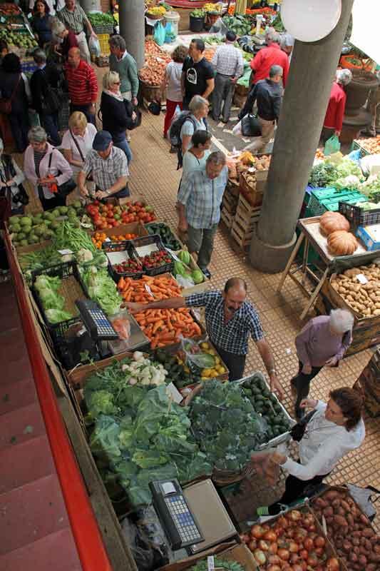Bild 19 Die Auswahl an Obst und Gemüse ist wirklich toll, der Duft und die Farben begeistern