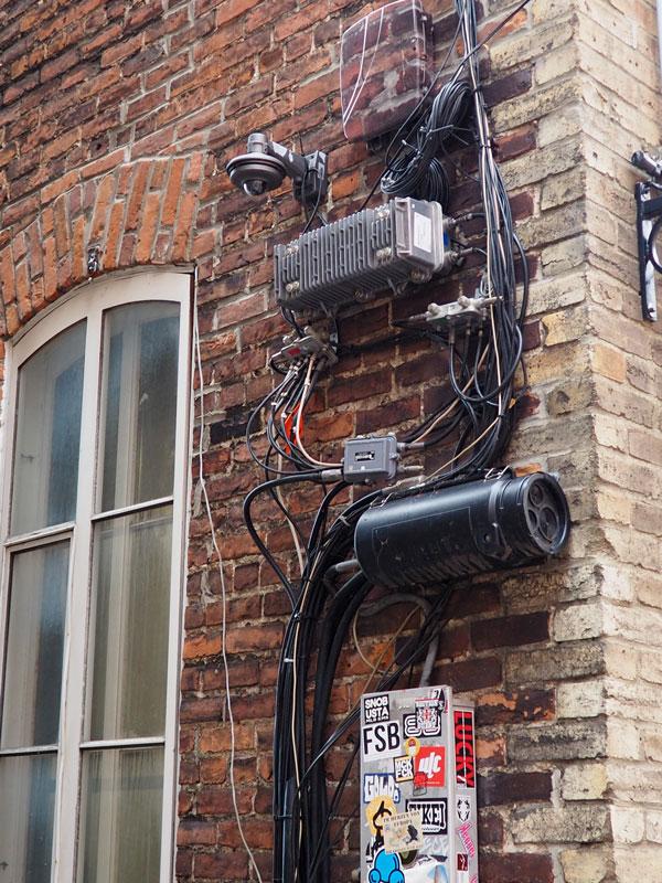 """Bild 51 Bummel durch Quebec, """"Paradies"""" für Elektriker"""