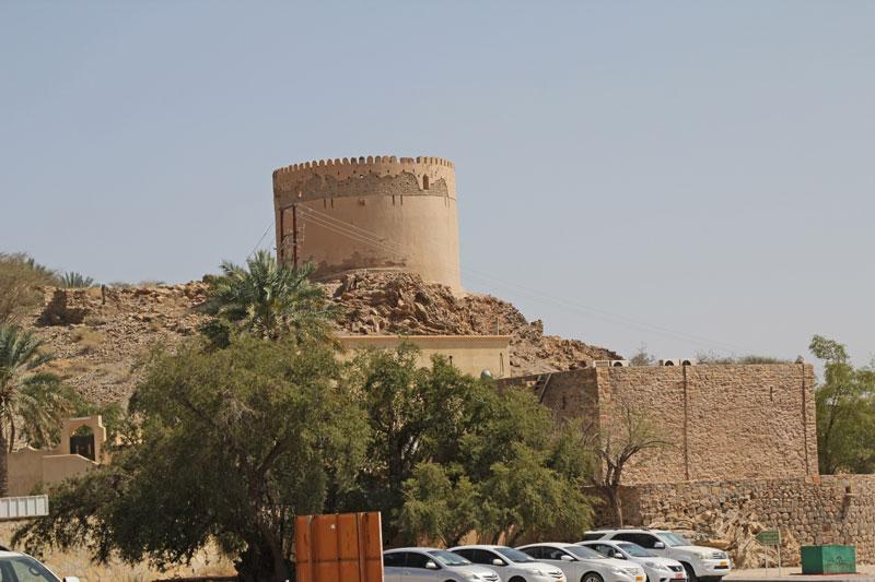 Bild 2 Alter Wachturm am Bayt Ar Ridayah Castle