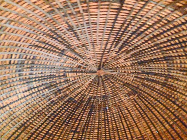 """Bild 17 Holzkuppel in der """"Round Barn"""""""