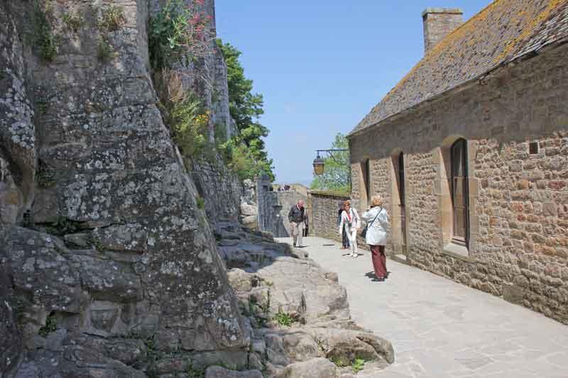 Bild 39 Auf dem Weg nach unten nach der Besichtigung der Abtei