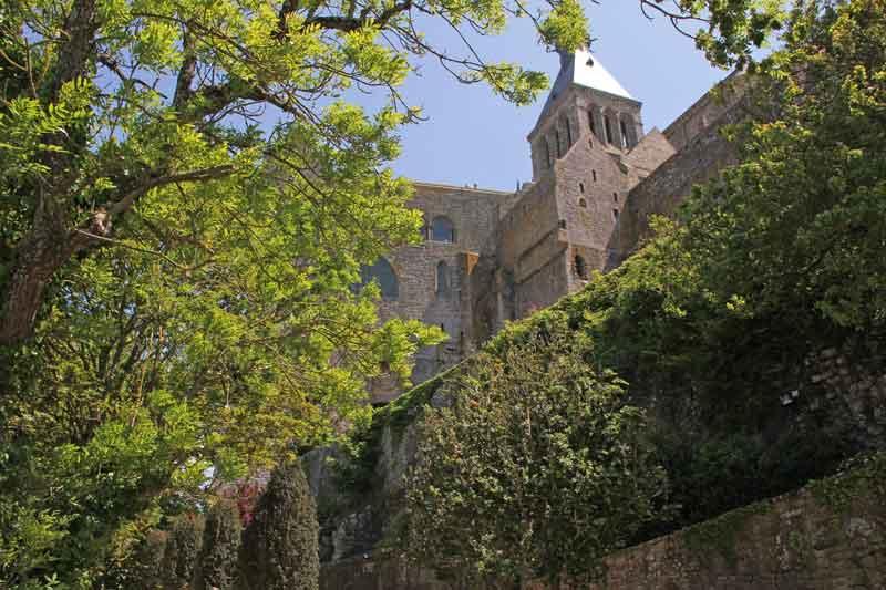 Bild 42 Auf dem Weg nach unten nach der Besichtigung der Abtei