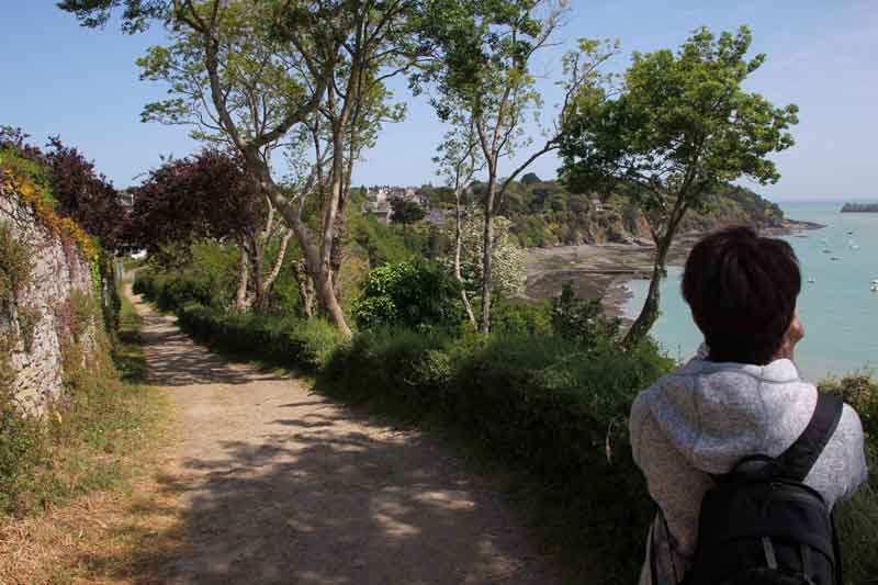 Bild 15 Blick auf die Küste bei Cancale