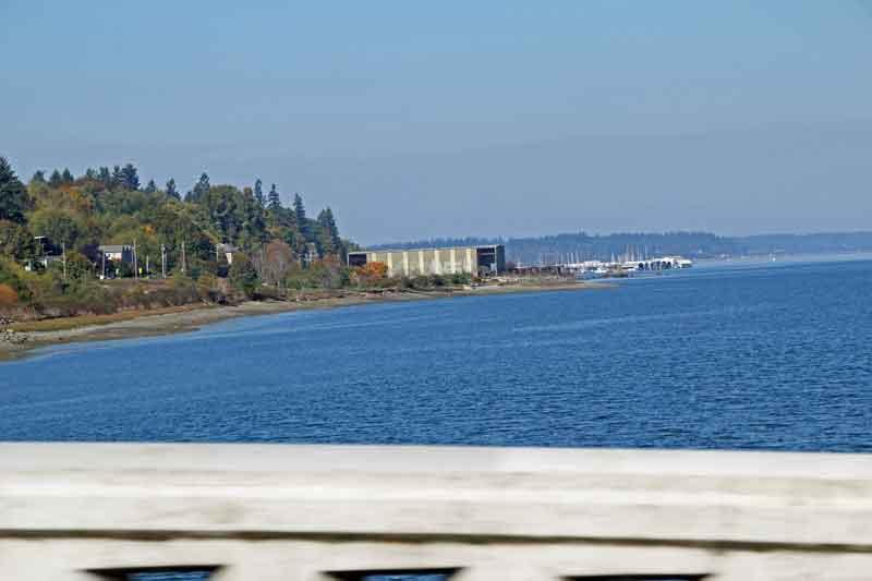 Bild 5 Immer auf der 101 rund um die Olympic Peninsula mit tollen Aussichten auf das Meer