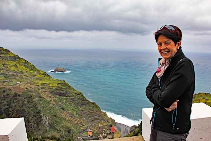 Bild 2 Auf der Nordseite von Madeira