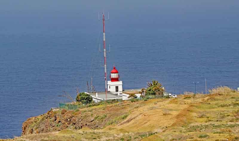 Bild 2 Am Leutturm von Ponta do Pargo